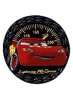 ABC Tappetiカーペットカースピードカー133 x 133 cmブラック/レッド
