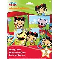 Nickelodeon Ni Hao, Kai-lan Sewing Cards Kit by EK Success [並行輸入品]