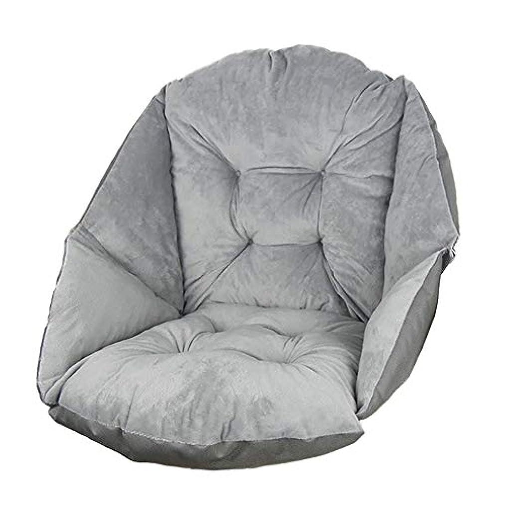 リス地図クリップ蝶背中に豪華な椅子クッション, ぬいぐるみワンピース畳シート クッション関係冬暖かい椅子床おならパッドを厚く-グレー 48x51x51cm