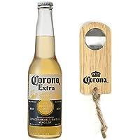 ビール コロナ・エキストラ ボトル 355ml×24本(Amazon.co.jp販売商品のみオリジナル栓抜き付)