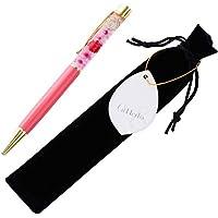 (ファンファン) &Herba ハーバリウム ボールペン 花 ギフト プレゼントおしゃれ ピンク 完成品