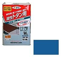 アサヒペン(Asahipen) トタン用 14L スカイブルー スカイブルー