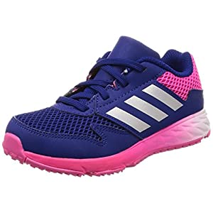 [アディダス] 運動靴 アディダスファイト 17.0cm-25.5cm(現行モデル) ボーイズ ミステリーインクF17/シルバーメット/ショックピンク F18 19 cm