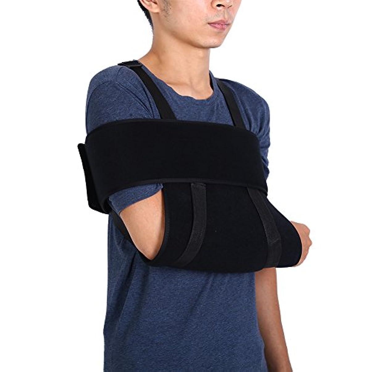アームリーダー 腕つり用サポーター ネオプレン☆安定感 通気性良い アームホルダー 腕の骨折?脱臼時のギプス固定に 調節可能