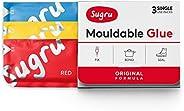 Sugru I000475 Original Formula - Red, Yellow & Blue 3-Pack Mouldable Glue, Piece