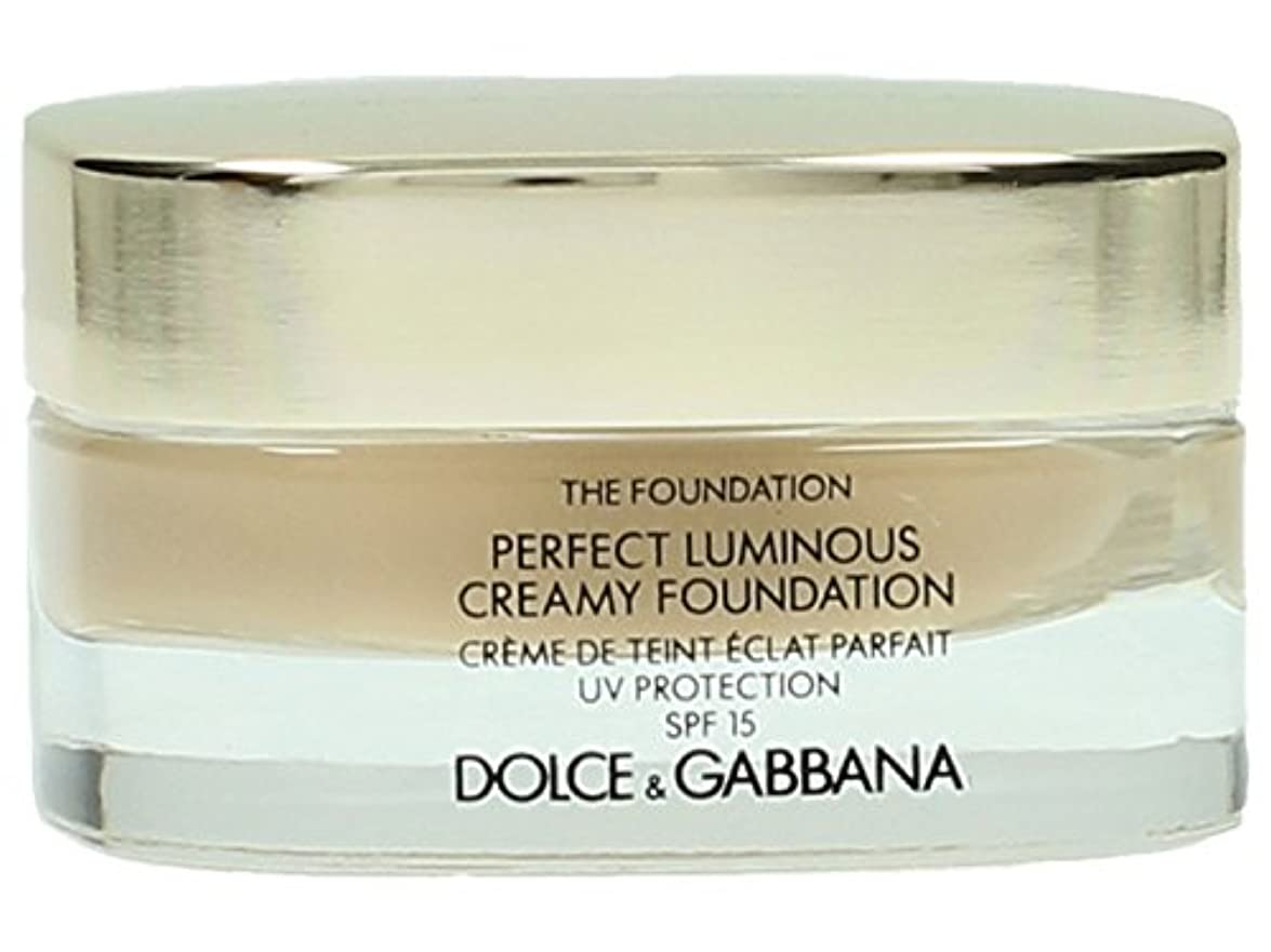 泥だらけ出発する天才Dolce & Gabbana The Foundation Perfect Finish Creamy Foundation SPF 15 - # 120 Natural Beige 30ml