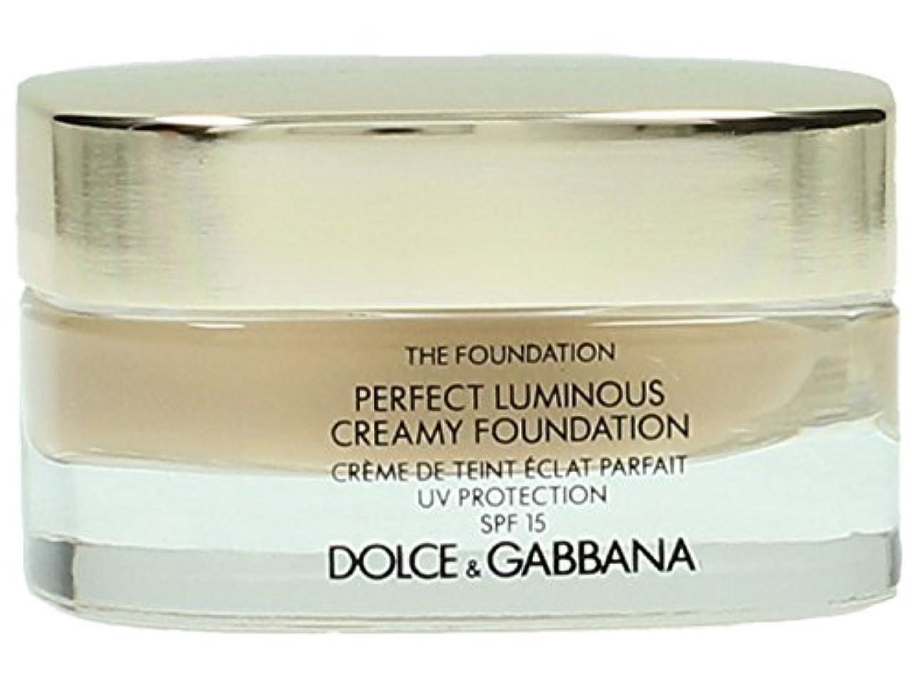 資産組デコードするDolce & Gabbana The Foundation Perfect Finish Creamy Foundation SPF 15 - # 120 Natural Beige 30ml
