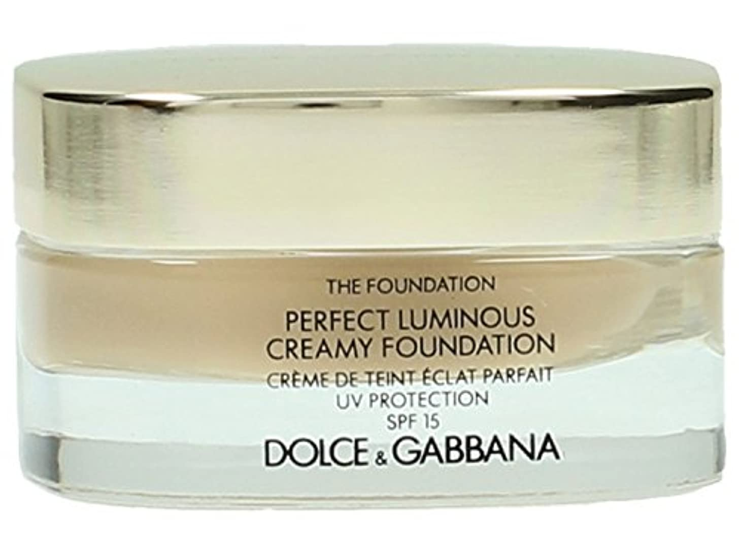 影響を受けやすいです膨らみ新しさDolce & Gabbana The Foundation Perfect Finish Creamy Foundation SPF 15 - # 120 Natural Beige 30ml