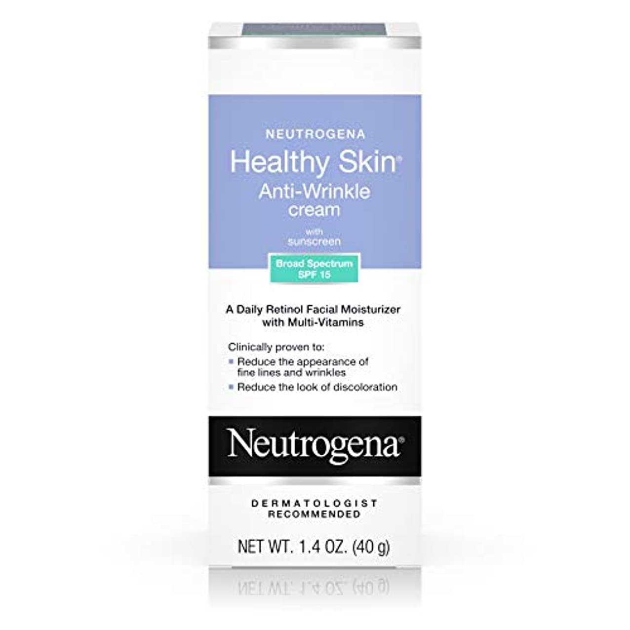 実質的文言ピアNeutrogena Healthy Skin Anti-Wrinkle Cream SPF#15 40 ml (並行輸入品)