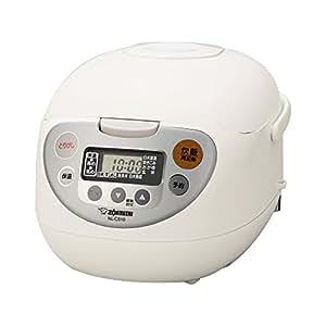 象印 炊飯器 マイコン式 5.5合 ホワイト NL-CA10-WA