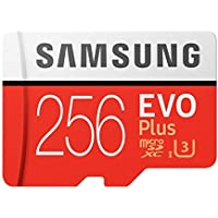 Samsung MC256GA/APC 256GB Evo Plus Class 10 UHS-I microSDXC U3 アダプター付き