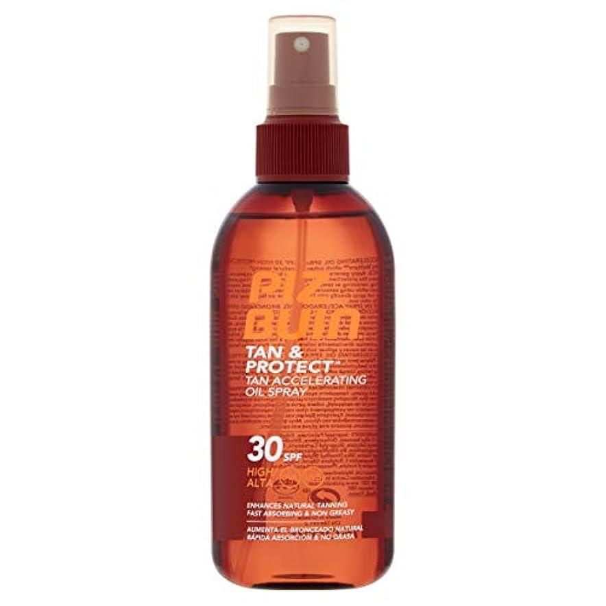 エンジニア廃棄保存Piz Buin - ピッツブーインTAN&PROTECTオイルスプレーSPF30 150ミリリットル - 【並行輸入品】