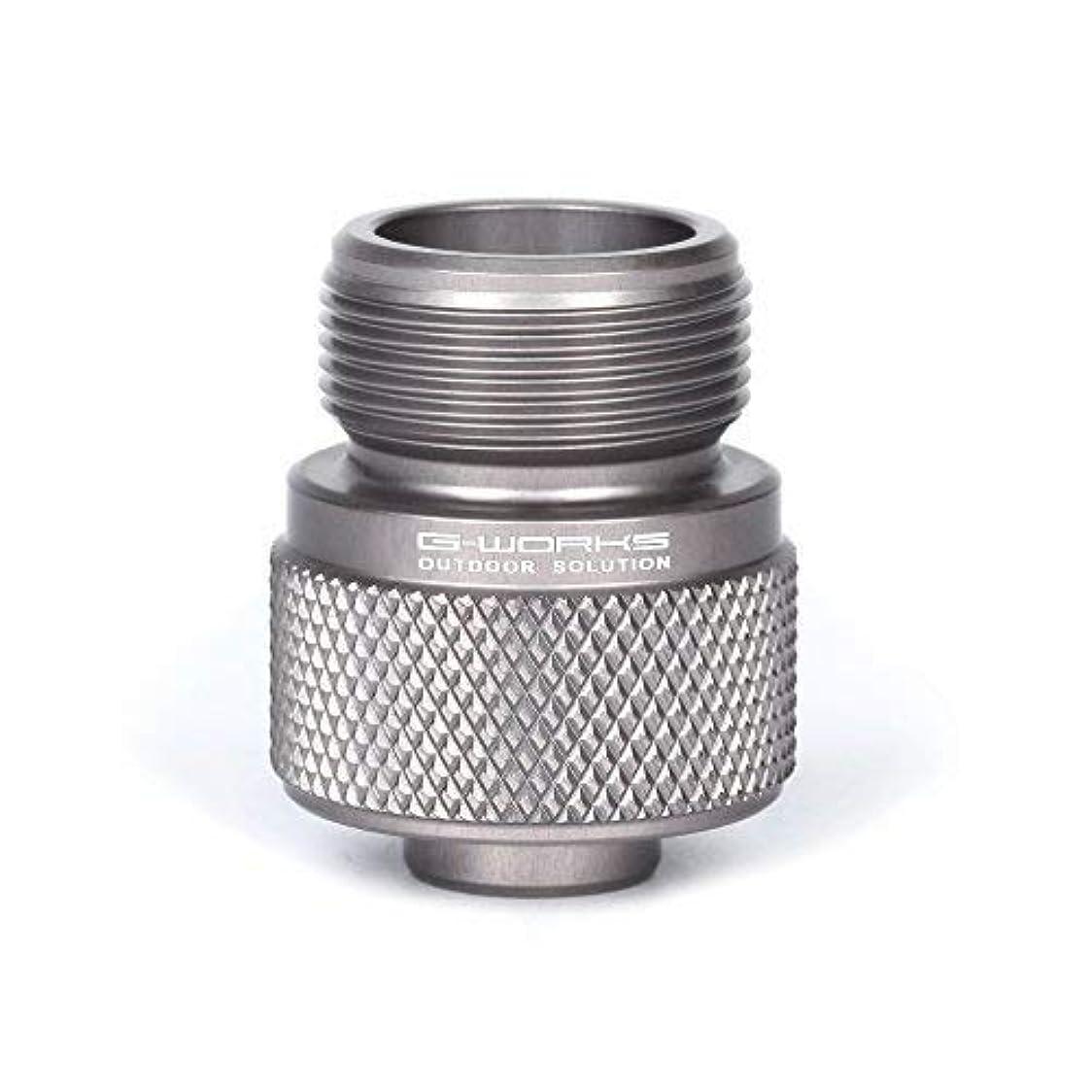 ほこり海嶺クルーズGas Adapter Converts/Use a Lindal Valve Canister Gas for Propane Gas Device. [並行輸入品]