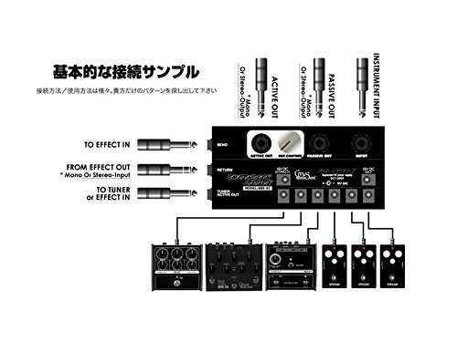 Crews Maniac Sound/SWITCH BACK STATION SBS-1【クルーズマニアックサウンド】送料無料】