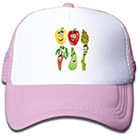 子ども グリッドキャップベジタブルおしゃれな 軽量 メッシュ帽子 オスとメス 通用