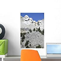 Mount Rushmore National Memorial Wall Mural by Wallmonkeys Peel and Stick Graphic (18 in H x 12 in W) WM214549 [並行輸入品]