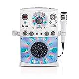 [シンギングマシーン]Singing Machine Top Loading CDG Karaoke System with Bluetooth, Sound and Disco Light Show SML385BTW [並行輸入品]