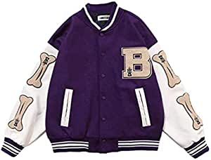 ANGELA -メンズジャケットカレッジ野球スポーツジャケットスウェットジャケットユニセックスファッションストリートウェアクラシックス野球ジャケット野球スポーツジャケッ