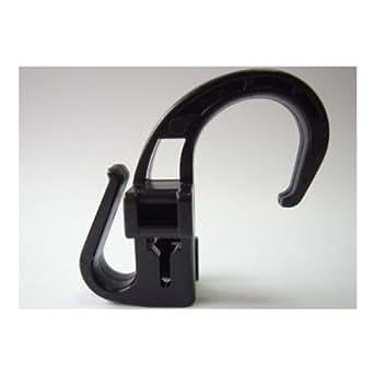 NIFCO ニフコ BHK1 プラスチック フック 直径約3.5~5mm用 自転車カゴカバーひものフックに