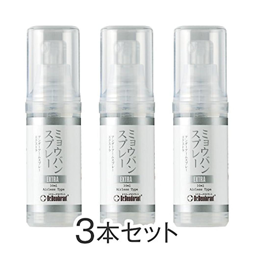 シソーラス韓国語保護ドクターデオドラント ミョウバンスプレーEX(3本セット)
