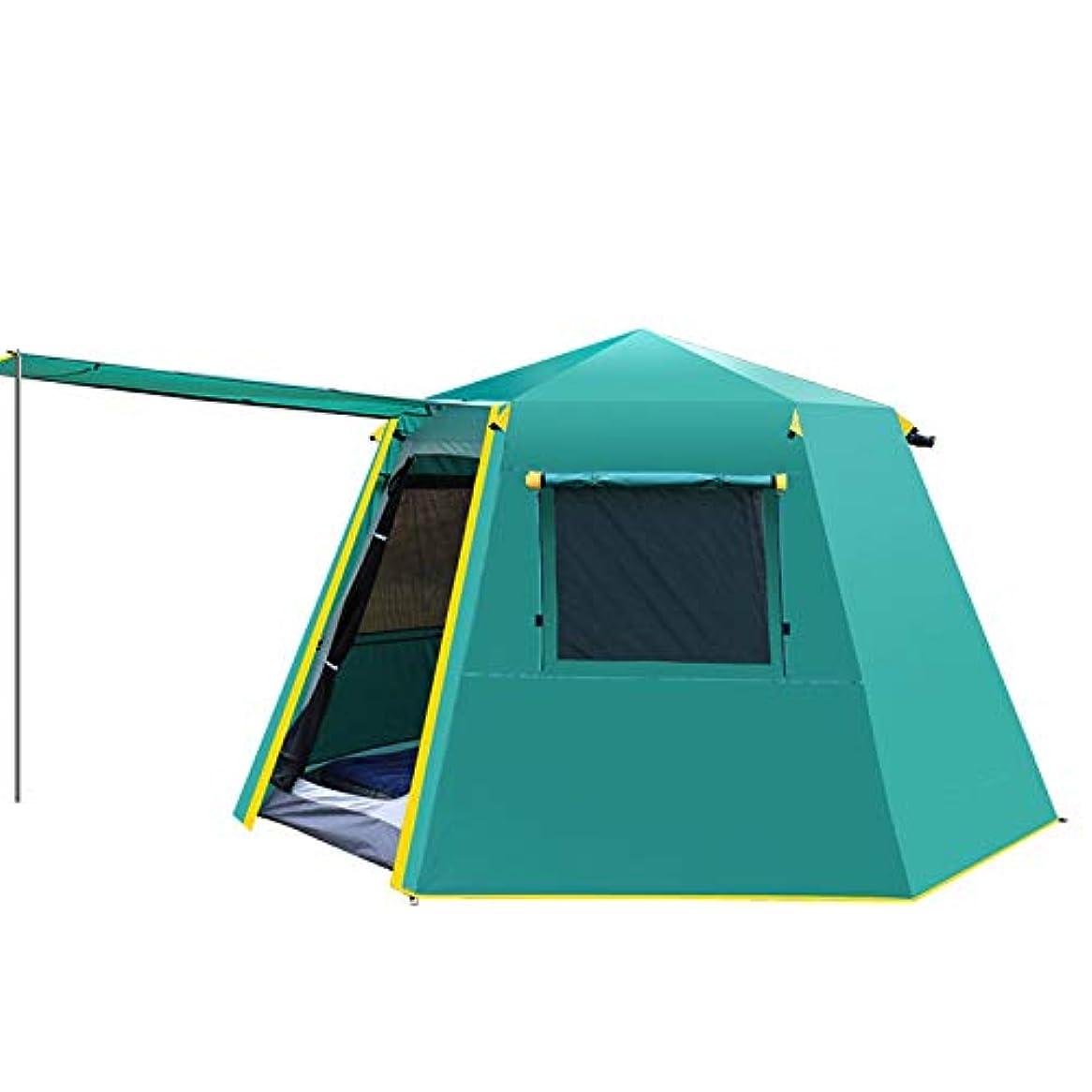 歌詞里親乳XBRキャンプテント高級テントウォーキングアップライト屋外キャンプ独立スペース3-4人多機能自動クイックオープニングビッグテントキャンプビーチパーク