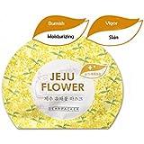 済州花のマスクシート2018新 Jeju Flower Mask Sheet 2018 New (Rape Flower, 3 Sheets)