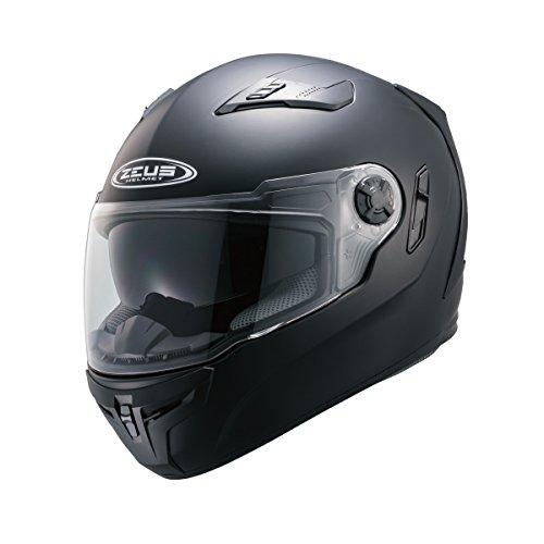 南海部品(ナンカイ)ZEUS(ゼウス)NAZ-105 フルフェイスヘルメット マットブラックXLサイズ インナーバイザー装備 NAZ105MBXL