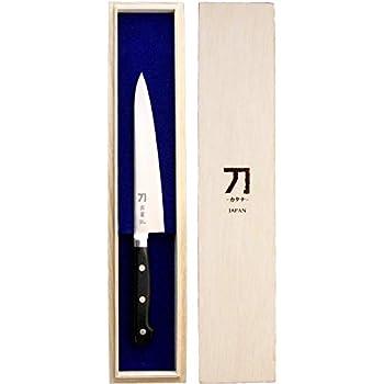 ナガオ 包丁 150mm 青紙二号鋼 刀-カタナ- 霹靂