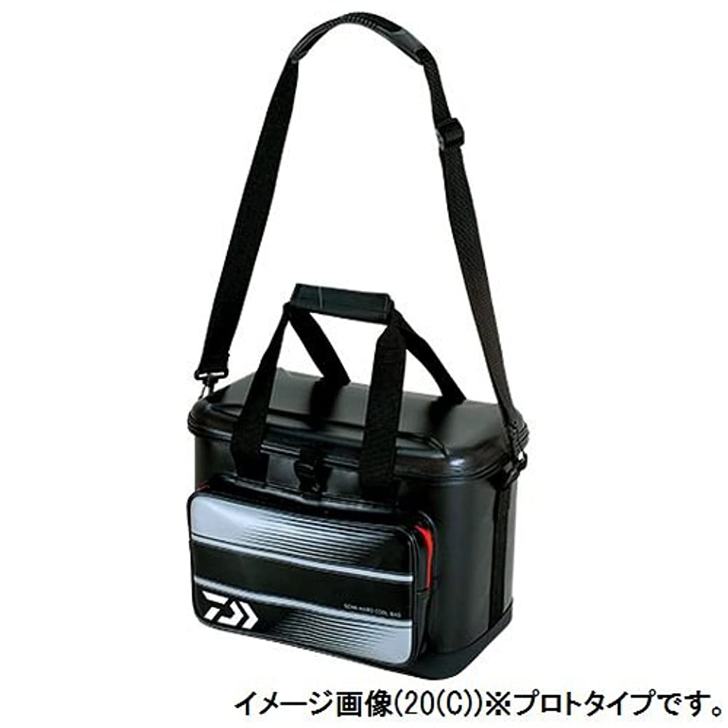 船上良心区別ダイワ(Daiwa) タックルバッグ セミハードクールバッグ 20(C) ブラック