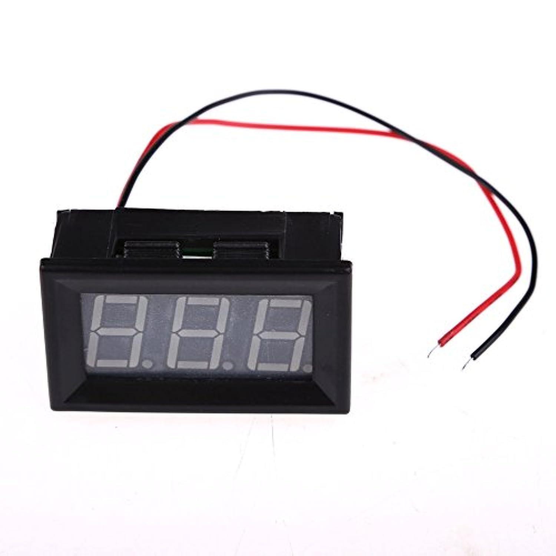 新しいDC3-30V 2線0.56インチ黄色LED電圧計パネル電圧表示 niomou