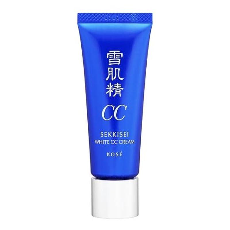 グローブ針柔和コーセー 雪肌精 ホワイト CCクリーム 01 ライトオークル 26ml [並行輸入品]