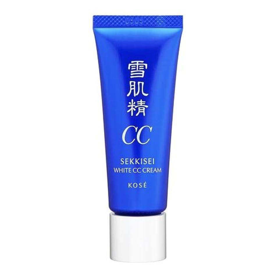 防水を通してスリラーコーセー 雪肌精 ホワイト CCクリーム 01 ライトオークル 26ml [並行輸入品]