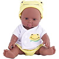 Kidding 12インチLovely African American Rebornベビー人形for Toddlers