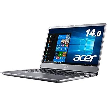 Acerノートパソコン Swift3 SF314-56-H58U/S Core i5-8265U/14インチ/8GB/256G SSD/Windows 10 /シルバー
