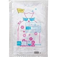 カウネット 高密度 ゴミ袋エコ厚 詰替用90L120枚×5