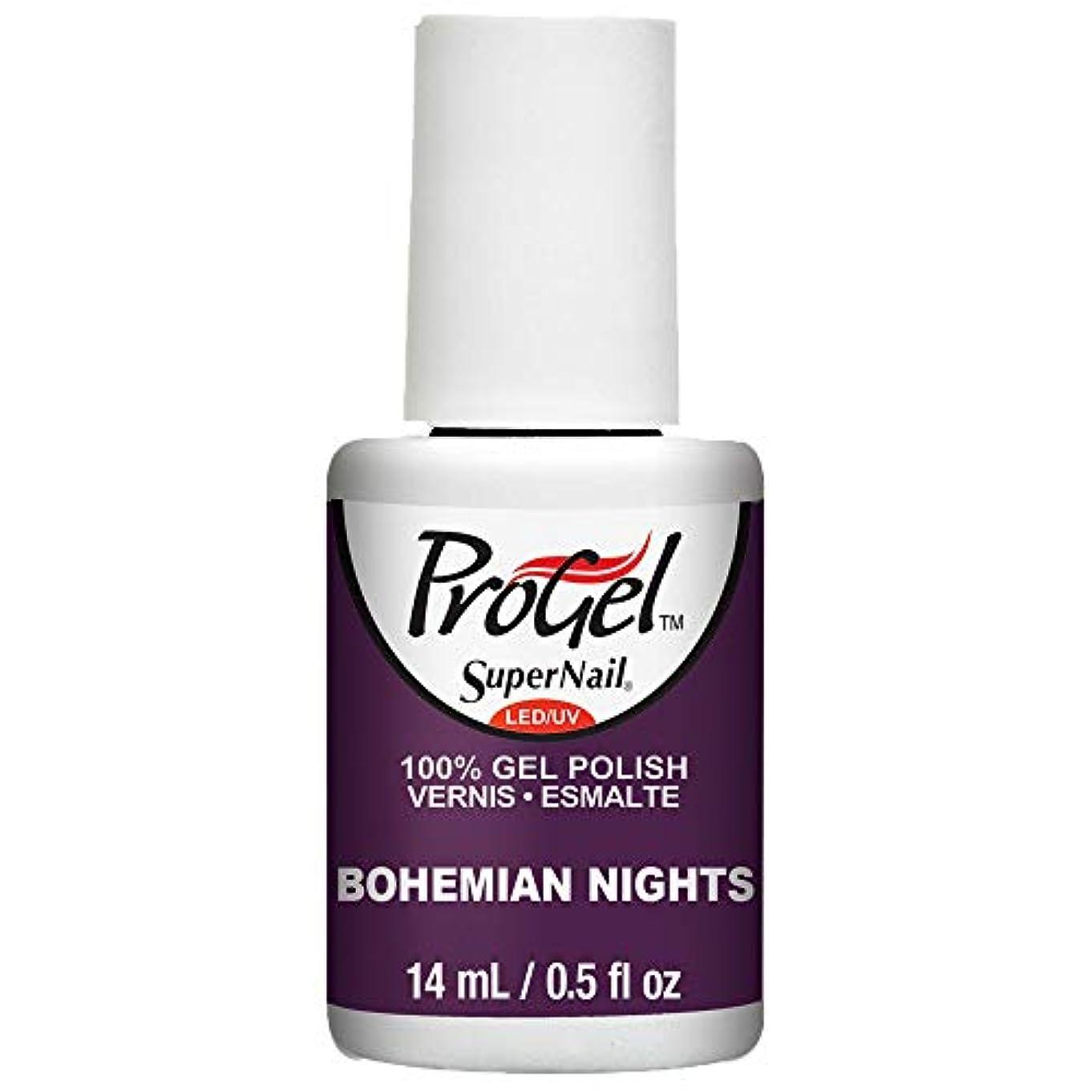 ライナーシャワーシャーロットブロンテSuperNail ProGel Gel Polish - Bohemian Nights - 0.5oz / 14ml