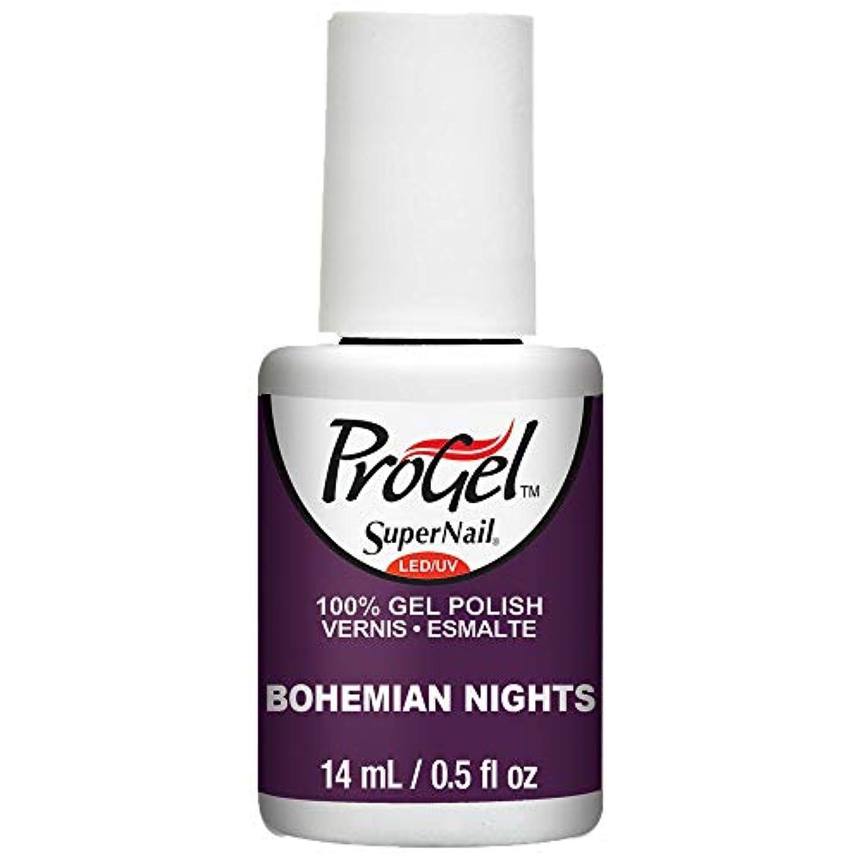 民族主義非常にテーブルSuperNail ProGel Gel Polish - Bohemian Nights - 0.5oz / 14ml
