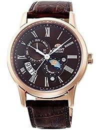 [オリエント] Orient 腕時計 #Men's Sun and Moon Version 3 Multifunction Leather Band Automatic Watch 日本製自動巻 FAK00003T メンズ 【並行輸入品】