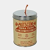 イギリス/Nutscene ナッツシーン|缶入り麻ひも ティン・オー・トワイン/150m テラコッタ