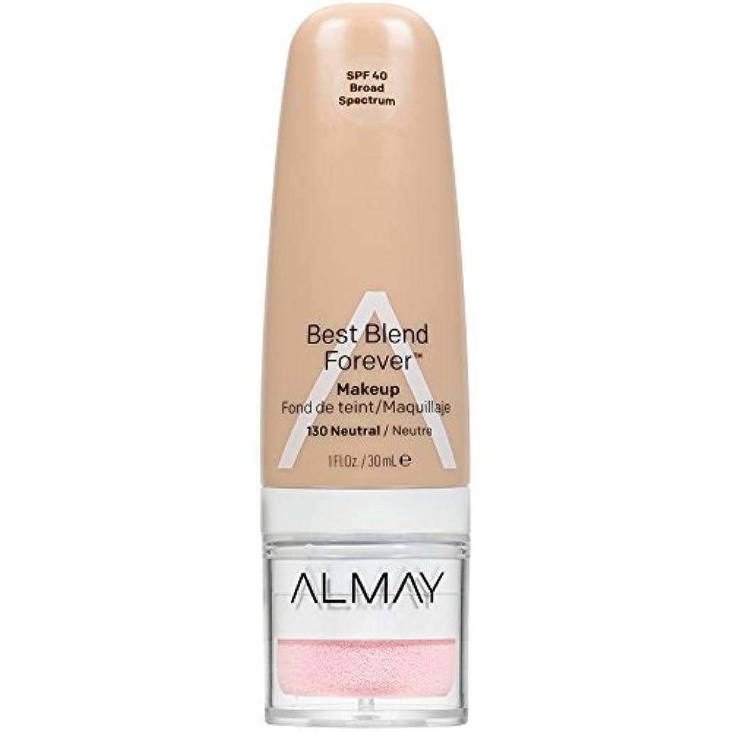 収束視力腐敗Almay Best Blend Forever, 130 Neutral, 30 ml