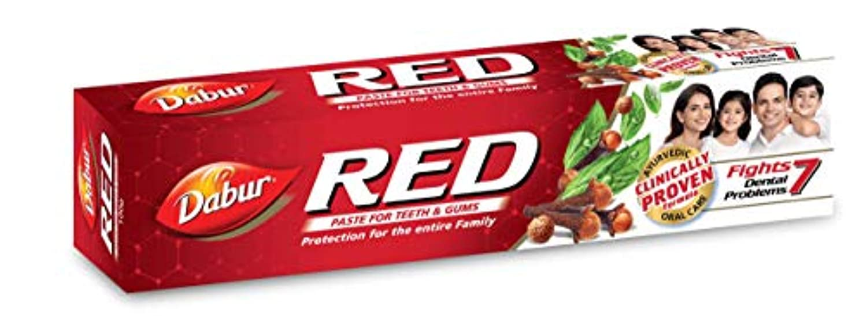体操酔う褒賞Red Manjan Toothpaste 200g toothpaste by Dabur