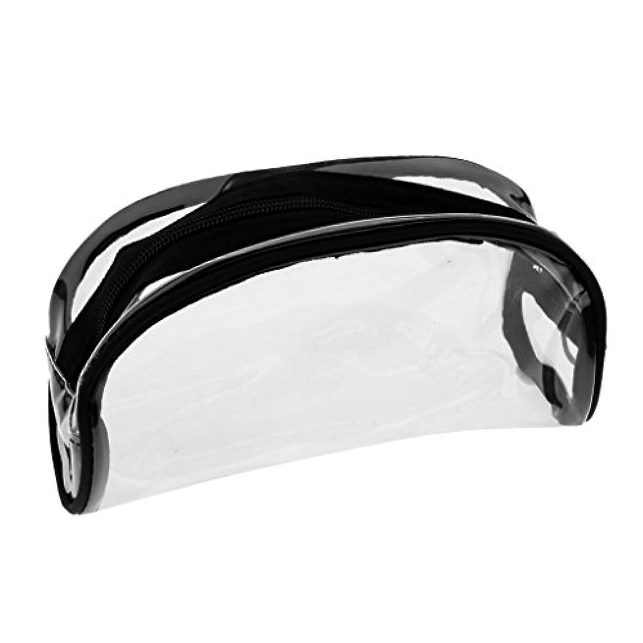 任命する降下流行Kesoto メイクバッグ 化粧ポーチ PVC クリア コスメ収納 化粧品 小物入り バッグ ポーチ ジッパーバッグ 全4タイプ - #2