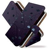 [KEIO ブランド 正規品] BREEZ X5 ケース 手帳型 花柄 X5 手帳型ケース 花柄 BREEZ カバー X5 花模様 コヴィア ケース ブリーズ 桜 さくら ittnオータムシルエットt0466