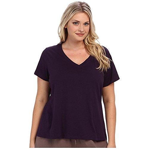 (ジョッキー) Jockey レディース インナー パジャマ Tシャツ Plus Size Cotton Jersey V-Neck Tee 並行輸入品