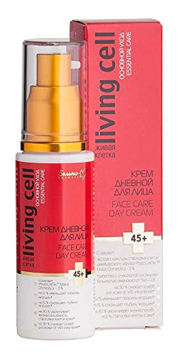Bielita & Vitex   Face Care Day Cream   Living Cell   Essential Care  Age: 45+