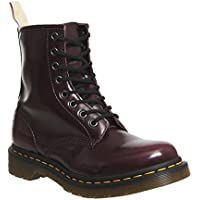 Dr.Martens Womens Vegan 1460 8-Eyelet Synthetic Leather Boots