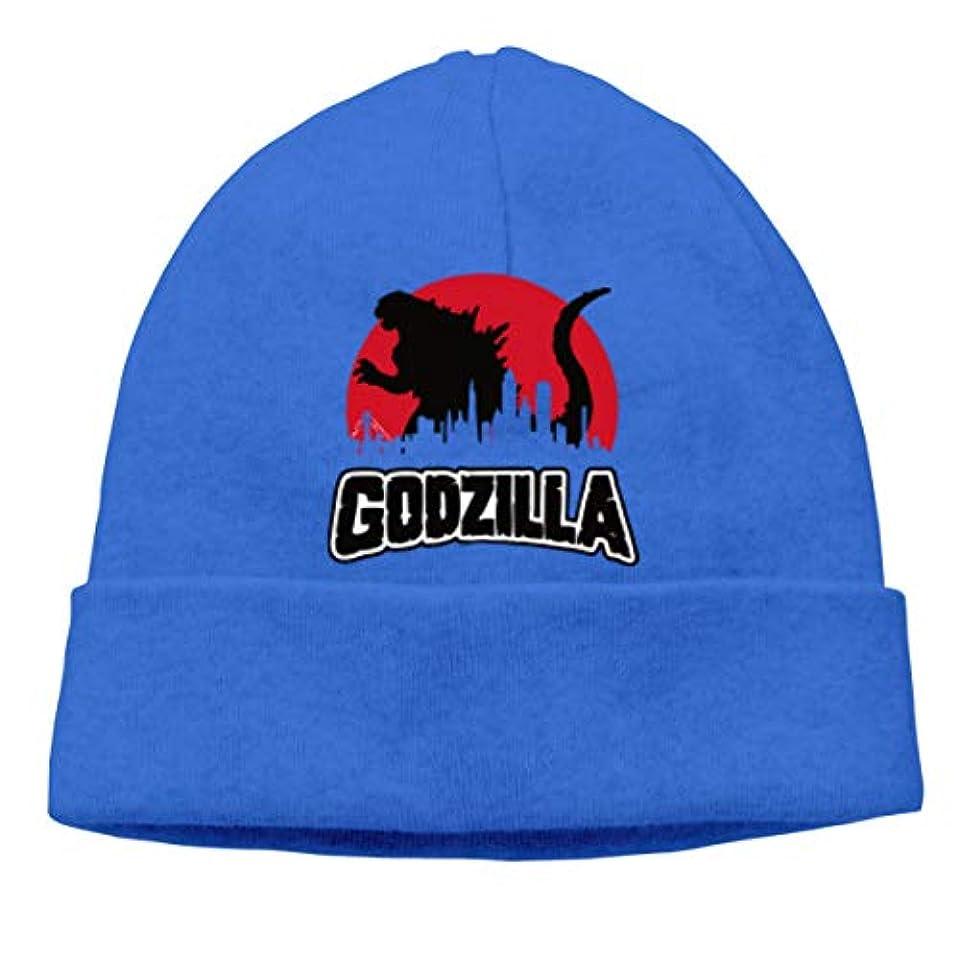 ひどく未払い半円ゴジラ Godzilla 未知の生き物 チ性抜群 通気性抜群 柔らかい 防風 無地 優れた弾力性 フェードしません 男性用と女性用のキャップ