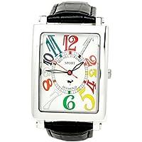 [ミッシェルジョルダン]michel Jurdain 腕時計 スポーツ ダイヤモンド レザー ブラック  メンズ SG-3000-6  メンズ