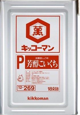 キッコーマン)芳醇こいくちしょうゆ 1斗缶(18L)★沖縄:船便