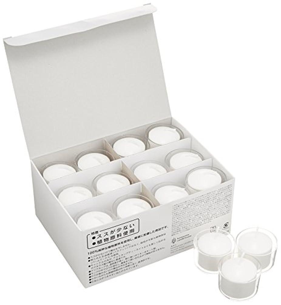 有毒作る買い物に行くクレア 5時間タイプ24個入り【ススが出にくいキャンドル】「 ホワイト 」